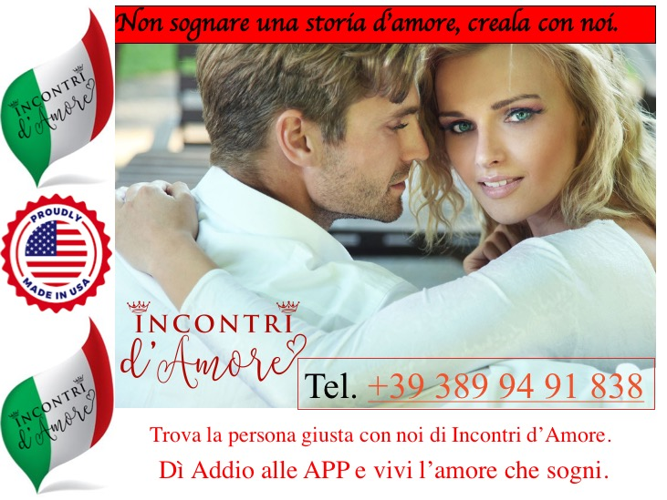 Incontri d'Amore Milano: agenzia matrimoniale e di incontri, un servizio a 5 stelle.